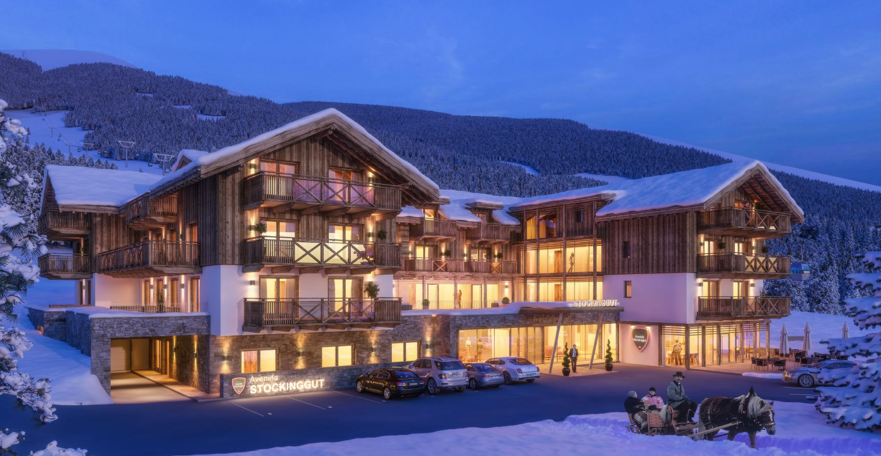 Stockinggut by avenida hotel residences leogang for Design hotel leogang